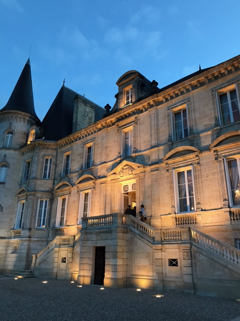 Dinner at Pichon-Baron