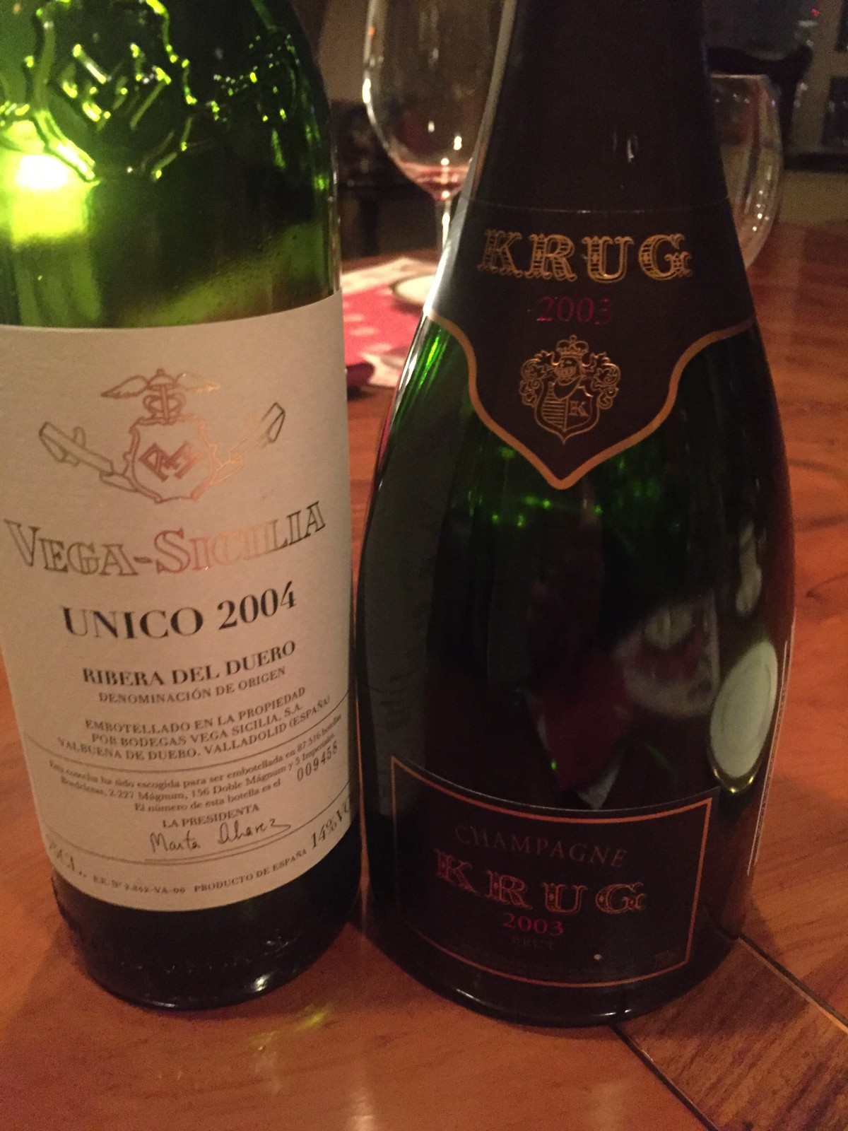 These wines preceded Michael Feinstein @ Carnegie Hall!  Wow, what a night…