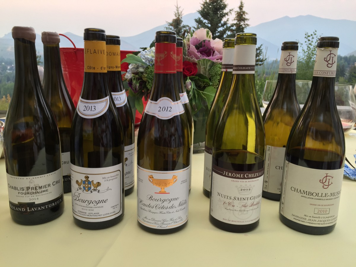 La Cru Wine Club – Burgundy Night in Sun Valley, ID